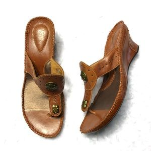 CLARKS ARTISAN Collection Leather Sandals #87263